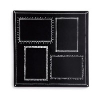 Magnetic Chalkboard with Outlines