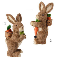 """11"""" RABBIT WITH CARROTS"""