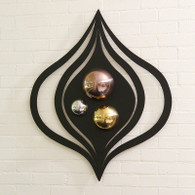 """Istanbul Panel   36.5"""" L x 31"""" W x 4"""" deep   Hangs on 2 keyholes   Can be hung vertically or horizontally"""