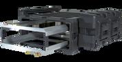 3U Removable Shock Rack