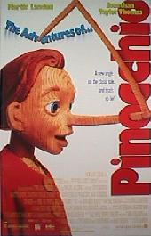 ADVENTURES OF PINOCCHIO,THE original issue rolled 1-sheet movie poster