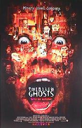 13 GHOSTS original issue rolled 1-sheet movie poster