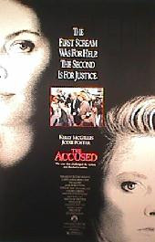 ACCUSED,THE original issue rolled 1-sheet movie poster