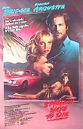 8 MILLION WAYS TO DIE original issue rolled 1-sheet movie poster
