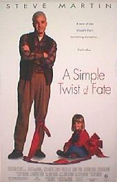 A SIMPLE TWIST OF FATE original issue rolled double sided 1-sheet movie poster
