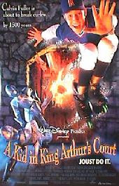 A KID IN KING ARTHUR'S COURT original issue rolled double sided 1-sheet movie poster
