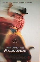 8 SECONDS original issue rolled 1-sheet movie poster