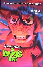 A BUGS LIFE original issue rolled double sided Advance B 1-sheet movie poster