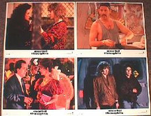 MORTAL THOUGHTS original issue 11x14 lobby card set