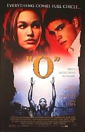 """O"" original issue rolled 1-sheet movie poster"
