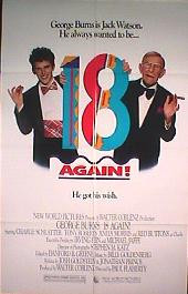 18 AGAIN original issue folded 1-sheet movie poster