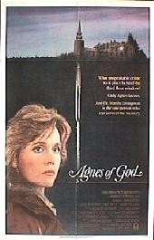 AGNES OF GOD original issue folded 1-sheet movie poster