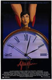 AFTER HOURS original issue folded 1-sheet movie poster