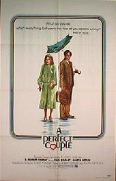 A PERFICT COUPLE original issue folded 1-sheet movie poster