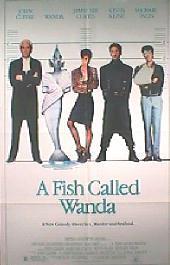 A FISH CALLED WANDA original issue folded 1-sheet poster