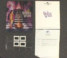 A SIMPLE WISH original issue movie presskit