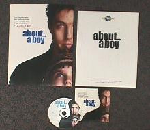 ABOUT A BOY original issue movie CD presskit