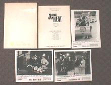 3 KINDS OF HEAT original issue movie presskit