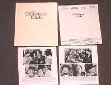 CEMETERY CLUB,THE original issue movie presskit