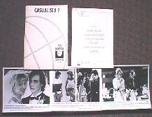 CASUAL SEX original issue movie presskit