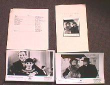 BURNING SECRET original issue movie presskit