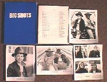 BIG SHOTS original issue movie presskit