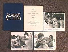AGAINST ALL ODDS original issue movie presskit