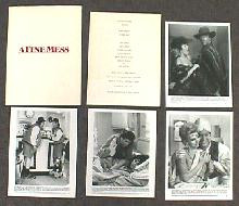 A FINE MESS original issue movie presskit