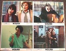 WOLFEN original issue 11x14 lobby card set