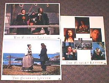 SCARLET LETTER,THE original issue 11x14 lobby card set
