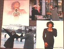 PREACHER'S WIFE,THE original issue 11x14 lobby card set
