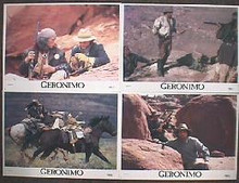 GERONIMO original issue 11x14 lobby card set