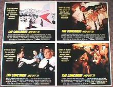 CONCORD-AIRPORT original issue 11x14 lobby card set