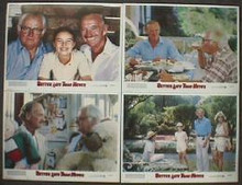 BETTER LATE THAN NEVER original issue 11x14 lobby card set