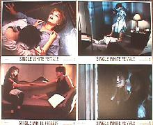 SINGLE WHITE FEMALE original issue 8x10 lobby card set