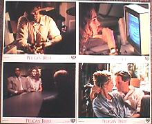 PELICAN BRIEF,THE original issue 8x10 lobby card set