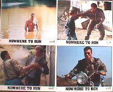 NOWHERE TO RUN original issue 8x10 lobby card set