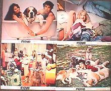 MOVE original issue 8x10 lobby card set