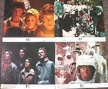 E.T. original issue 8x10 lobby card set