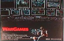 WAR GAMES original issue 22x28 rolled movie poster