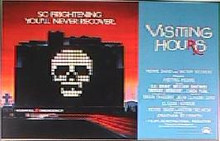 VISITING HOURS original issue 22x28 rolled movie poster