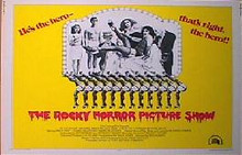 ROCKY HORROR PICTURE SHOW 22x28 rolled movie poster