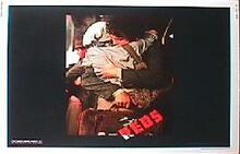 REDS original issue 22x28 rolled movie poster