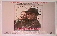 PRIZZI'S HONOR original issue 22x28 rolled movie poster
