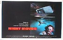 NIGHT MOVES original issue 22x28 rolled movie poster