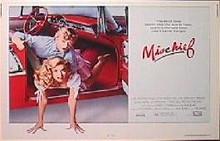 MISCHIEF original issue 22x28 rolled movie poster
