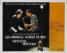 NEW YORK, NEW YORK original issue 22x28 rolled movie poster