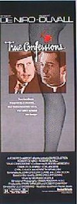 TRUE CONFESSIONS original issue 14x36 rolled movie poster