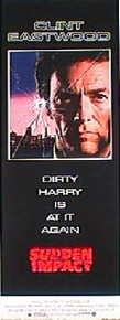 SUDDEN IMPACT original issue 14x36 rolled movie poster