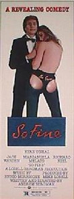 SO FINE original issue 14x36 rolled movie poster